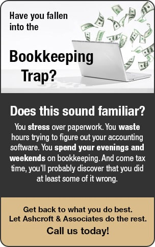 Enterprise Business & Tax Services can help you out of the bookkeeping trap. We offer professional bookkeeping services for businesses and corporations of any size.